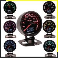 GReddi Multi D/A LCD pantalla Digital Turbo Boost Gauge medidor del coche 2 5 pulgadas 60mm 7 colores en 1 Racing de