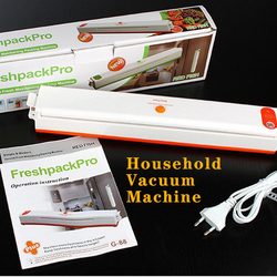 Pakowarka próżniowa dla gospodarstw domowych mała maszyna uszczelniająca kompresyjna automatyczna zachowywanie świeżości maszyna do pakowania żywności z tworzyw sztucznych