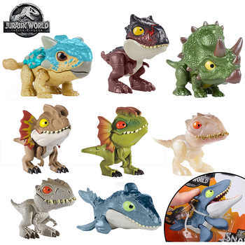Jurassic World Dinosaurs Toys Mini Joints Tyrannosaurus Figures Boys Toys Figuras Dinosaur Toys for Children Action Figure Gifts jurassic world dinosaurs toys mini joints tyrannosaurus figures boys toys figuras dinosaur toys for children action figure gifts
