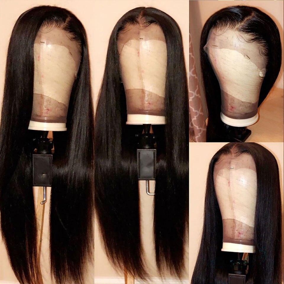 Image 4 - 13x4 Remy dentelle droite avant perruques de cheveux humains vrais Extensions de perruque de cheveux humains près de moi pour no-in Avant de lacet Perruques from Extensions de cheveux et Perruques on AliExpress