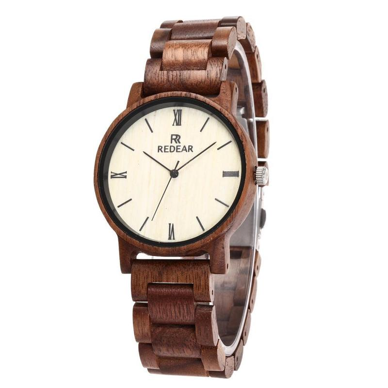 2019 Hot Sale Listed On The New Fashion Simple Wooden Watch High-grade Wood Imported Quartz Movement