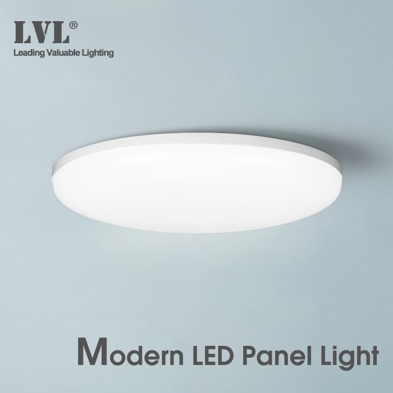 Panel de luz LED 9W 13W 18W 24W 36W 220v UFO luces de techo LED sala de estar iluminación interior Panel de techo de luz LED