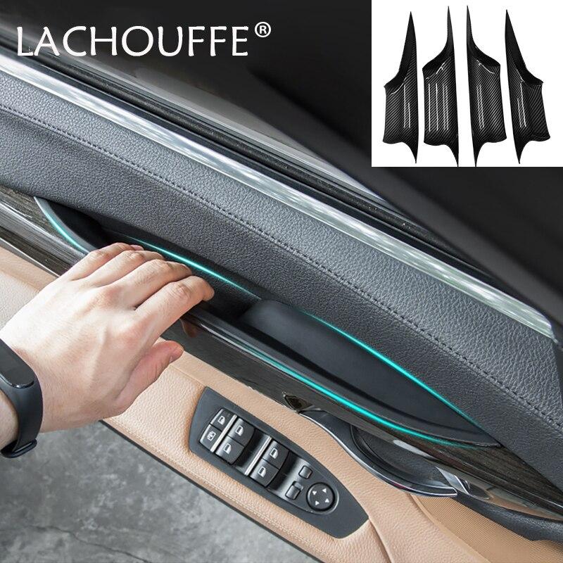 Black Front Left Inner Door Handle Recessed Grip Switch Panel for BMW F10 10-16