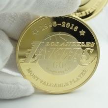 Gold Plated Metal custom American  Kobe Bean Bryant Coin