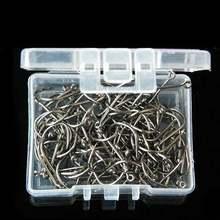 1000 шт 10 размеров рыболовные крючки из высокоуглеродистой