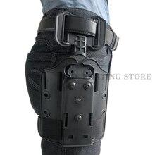 Тактическая ножная/поясная кобура адаптер Safariland QLS/SOG зажим Крепление прямая ножка аксессуары на платформе