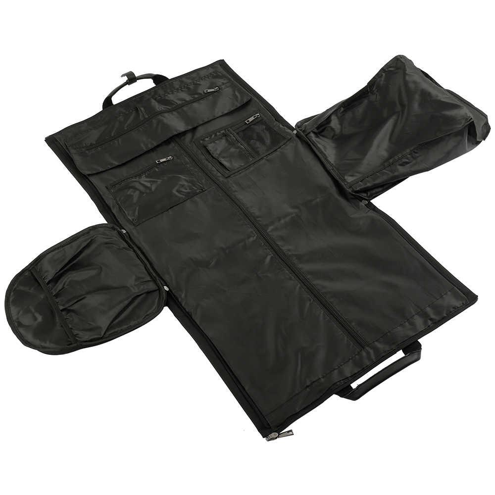 Professionele Kledingstuk Bag Cover Pak Jurk Opslag non-woven Ademend Dust Cover Protector Travel Carrier doek stofkap