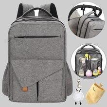 Su geçirmez mumya bebek bezi çantası sırt çantası organizatör yeni doğan anne annelik bebek çantası çanta anne anne arabası bebek bezi çantası