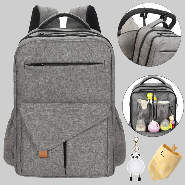 Waterproof Mummy Baby Diaper Bag Backpack Organizer New born Mother Maternity Baby bag Bags For Mom Mommy Stroller diaper bag