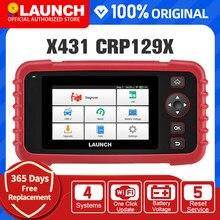 LAUNCH X431 CRP129X OBD2 Scanner Auto Code Reader OBD Diagnostic Tool Car ENG AT ABS SRS Oil SAS TMPS EPB Automotive Car Tool