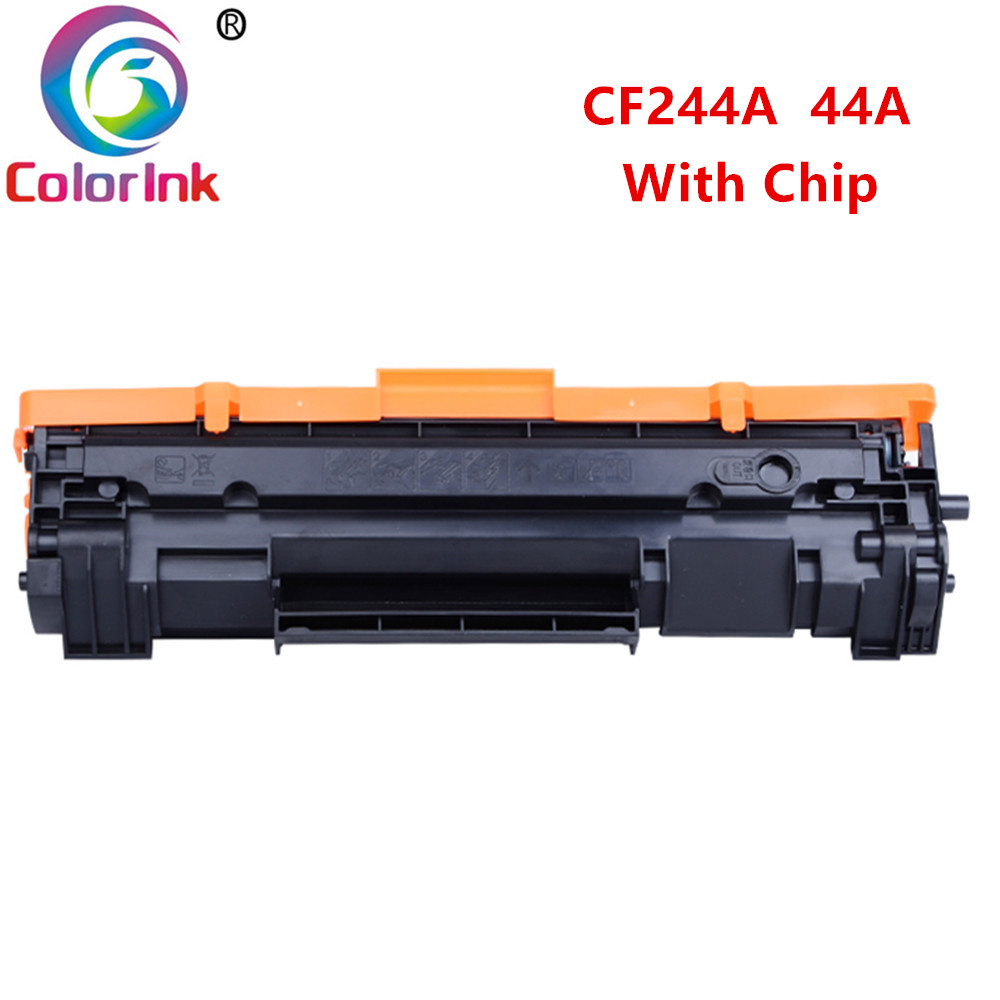 ColorInk for HP <font><b>CF244A</b></font> 44A Toner Cartridge within <font><b>chip</b></font> for HP LaserJet Pro M15 M15a M15w M28 M28a M28w Printer black cartridges image