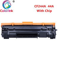 Colorink para hp cf244a cartucho de toner 44a dentro da microplaqueta para hp laserjet pro m15 m15a m15w m28 m28a m28w impressora cartuchos pretos|Cartuchos de toner| |  -