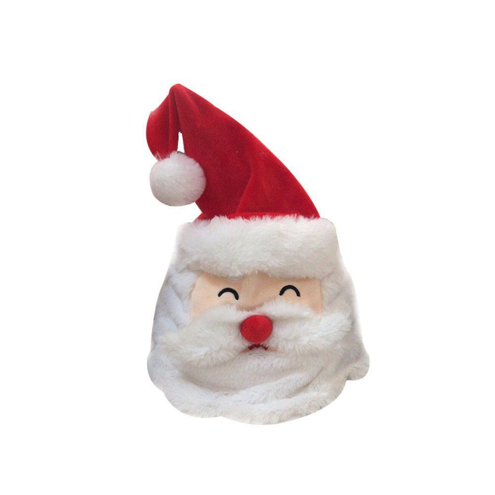 Merry Christmas Hats With Music Can Be Moved  Kid Christmas Gift New Year Cap Xmas Decoration As A Gift For Family