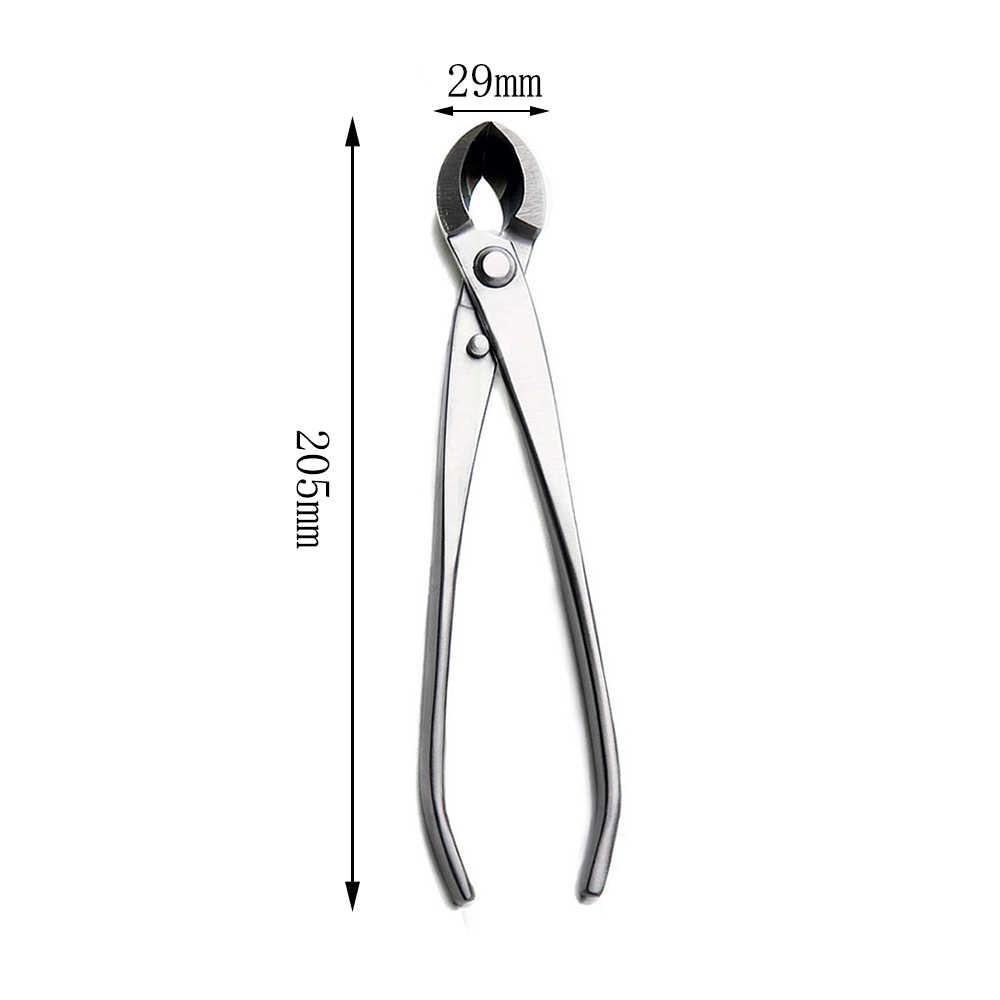 205 mm ronde edge cutter standaard kwaliteit gemengde functie van ronde & straight edge 3Cr13 Rvs gemaakt door TianBonsai