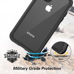 Image 3 - Case Voor Iphone 12 Pro Max 11 Pro Xr Xs 7 8 Effen Schokbestendig Siliconen Telefoon Case Screen Bescherm Case phone Case Clear Back Cover