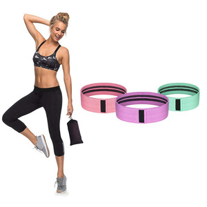 Resistance Bands Set Booty Builder Hip Legs Butt Exercise Bands with Instruction Guide Bands Workout Stretching Training Rope