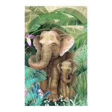 banana elephant Moge Diamond Painting Full Round animal plant New DIY sticking drill cross embroidery 5D simple home decorative