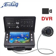 """Erchang 15 м 1000TVL рыболокатор подводная камера для подледной рыбалки 3,"""" ЖК-монитор 8 шт. светодиодный камера ночного видения с видеозаписью"""