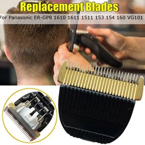 Ceramic Titanium Replacement Clipper Blades for Panasonic ER-GP8 1610 1611 1511 153 154 160 VG101 Cutter Hair Grooming Trimmer(China)