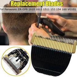 Ceramiczne tytanu wymiana ostrza maszynki do dla Panasonic ER GP8 1610 1611 1511 153 154 160 VG101 cięcia włosów trymer do pielęgnacji w Trymery do włosów od AGD na