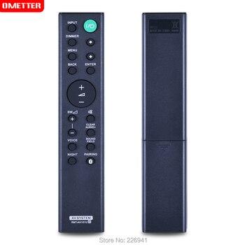 Sound AV system remote control RMT-AH101U use for sony soundbar system remote control remotoHT-CT380 HT-CT780 SA-CT380 SA-WCT780 remote control fit for sony ht ss370hp rm aau117 str dh740 rm aau189 str k3500sw ht ct350 ht ct350hp ht ct150hp a v av receiver