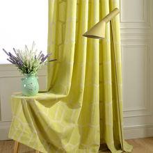 Занавески из хлопка и льна тканевые занавески с вышивкой для