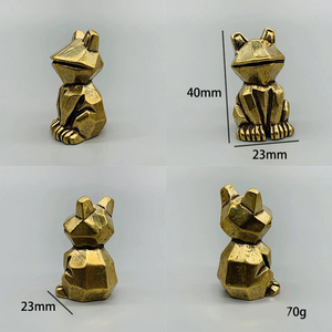 Image 4 - DIY sevimli hayvan mefruşat ürünleri kolye Vintage pirinç araba dinozorlar Hippo DIY aksesuarları