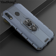 For Samsung Galaxy M20 Case TPU+PC Phone Finger Holder Bumper Cover Youthsay