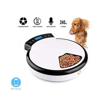 TWISTER.CK Automatic Feeder Pet Timing Feeding Machine Wet Dry Dual Use Food Dispenser