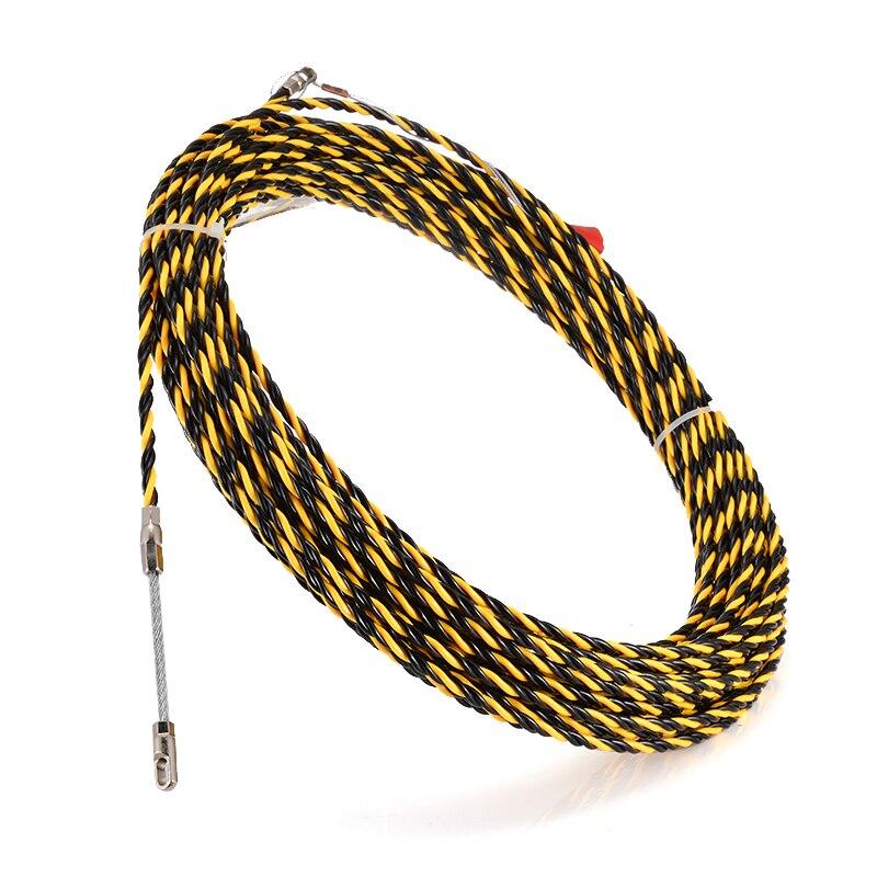 Новинка 6,5 мм * 30 м нейлоновая Рыбная лента Электрический кабель толкатель змея трубопровод воздуховод кабель Rodder проводник