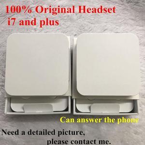 Image 1 - 20 pçs/lote Qualidade original fone de ouvido na orelha do fone de ouvido com Microfone Remoto Com Embalagem de Varejo Para o iphone xs X 7/8 7/8plus