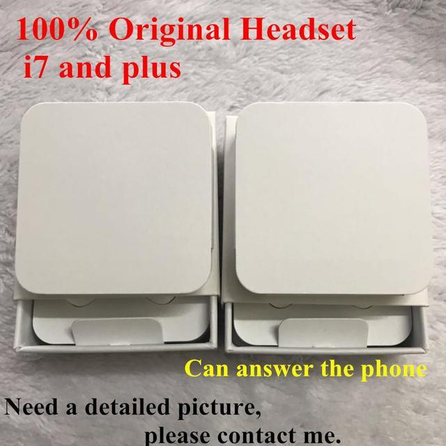 20 teile/los original Qualität headset in ohr kopfhörer mit Fernbedienung Mic Mit Einzelhandel Verpackung Für iphone xs X 7/8 7/8plus