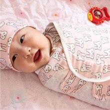 3 шт./компл. ребенка пеленать+ Кепки+ перчатки для хлопок мягкие пеленки для новорожденных детские пеленки Одеяло Обёрточная бумага хлопкоывй, спальный мешок