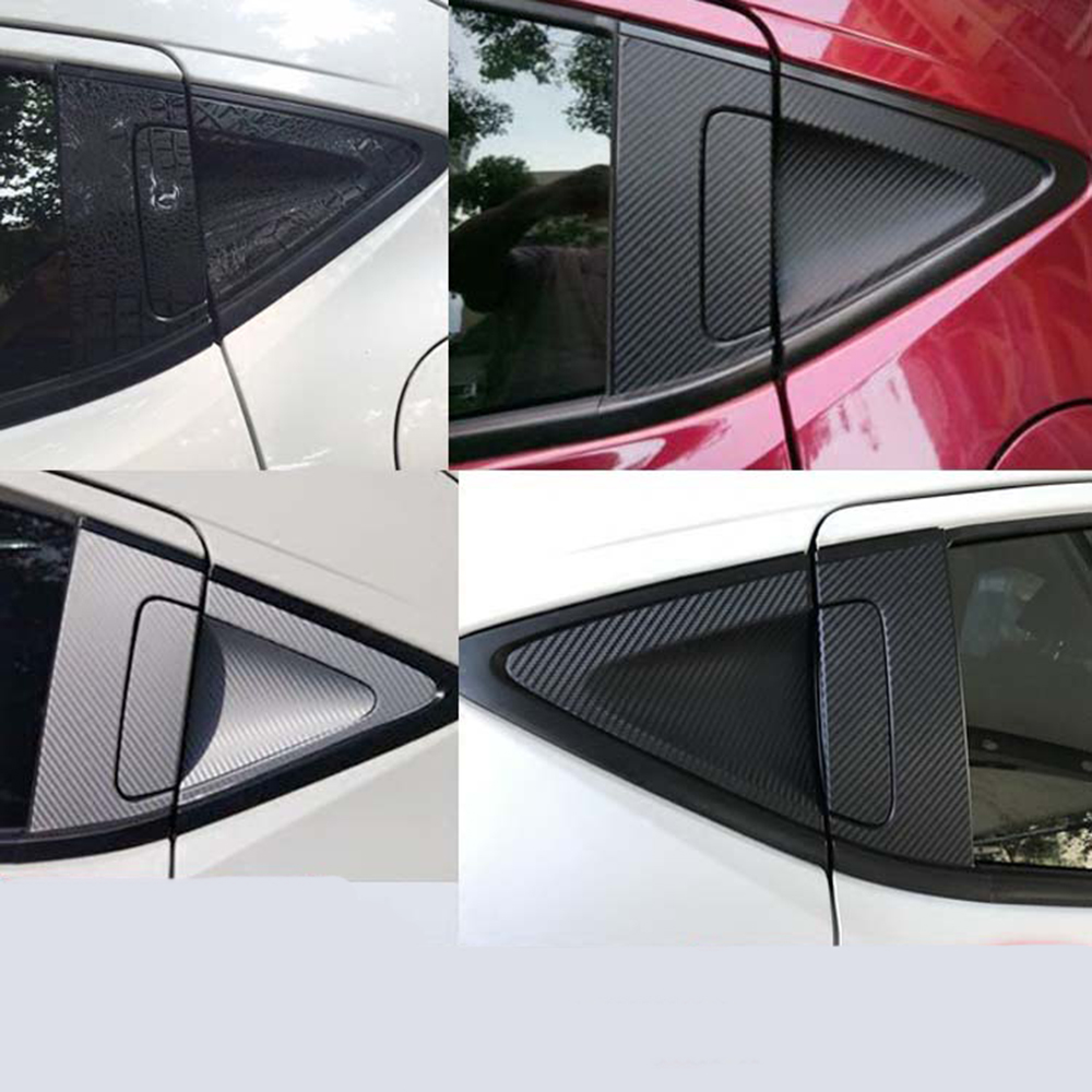 Carbon Fiber Rear <font><b>Door</b></font> <font><b>Handle</b></font> Bowl Sticker for <font><b>Honda</b></font> HR-V <font><b>HRV</b></font> Vezel Car Stickers <font><b>Door</b></font> <font><b>Handle</b></font> Styling hxh image