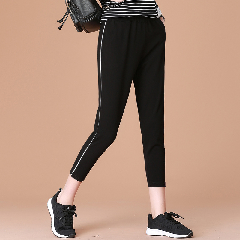 NEW FOR Women Waist Pants Casual Chffion length Capris Trouser Women Clothing Pencil Pants