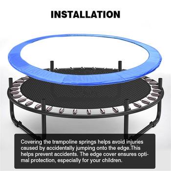 1 sztuk dzieci trampolina krawędź pokrywa wiosna pokrywa odporny na UV ochraniacz na krawędzie mata bezpieczeństwa odporna na rozdarcie podkładka zastępcza 10ft 12ft tanie i dobre opinie CN (pochodzenie) Trampoline Edge Spring Cover Support Waterproof Anti-ultraviolet 10 feet 3 05 meters spring pad 12 feet 3 66 meters spring pad