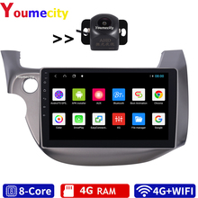 4G RAM/Eight Core/Android 8.1 Car Multimedia Player Dvd For HONDA JAZZ FIT 2007 2013 Radio Gps Wifi Bluetooth 2DIN/ New Arrival