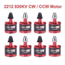 2212 920kv ccw sem escova do motor cw para f330 f450 f550 x525 quadcopter multicopter rc peças