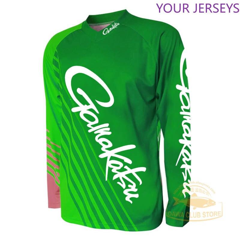 Daiwa GAMAKATSU açık havada balıkçılık kıyafeti sonbahar kıyafetleri Anti UV hızlı kuru giyim nefes uzun kollu gömlek DAIWA Pesca title=