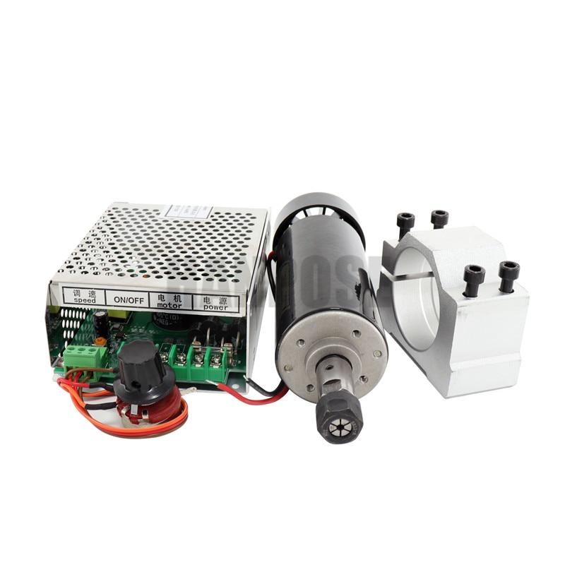 0.5kw levegőhűtésű orsómotor ER11 tokmány CNC 500W Orsó - Szerszámgépek és tartozékok - Fénykép 6