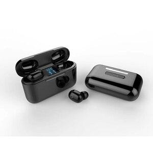 Image 5 - 2020 nowe słuchawki TWS Bluetooth słuchawki bezprzewodowe 2500mAh zestaw słuchawkowy LED 9D słuchawki hi fi Sport wodoodporne słuchawki douszne