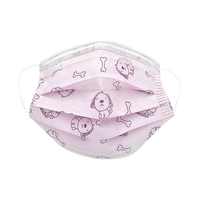 50pcs/100pcs Disposable Masks For Children Aged 4-12 Child Face Mouth Mask Kid Non-woven 4-layers Breathablthe Face Mask 5