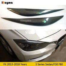 Автомобильные брови из углеродного волокна для bmw 3 серии 318i