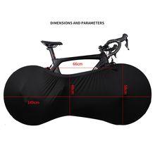 Универсальная велосипедная крышка колеса сумки УФ Погода эластичная Анти-пыль ржавчины устойчивая водонепроницаемая сумка для хранения передач