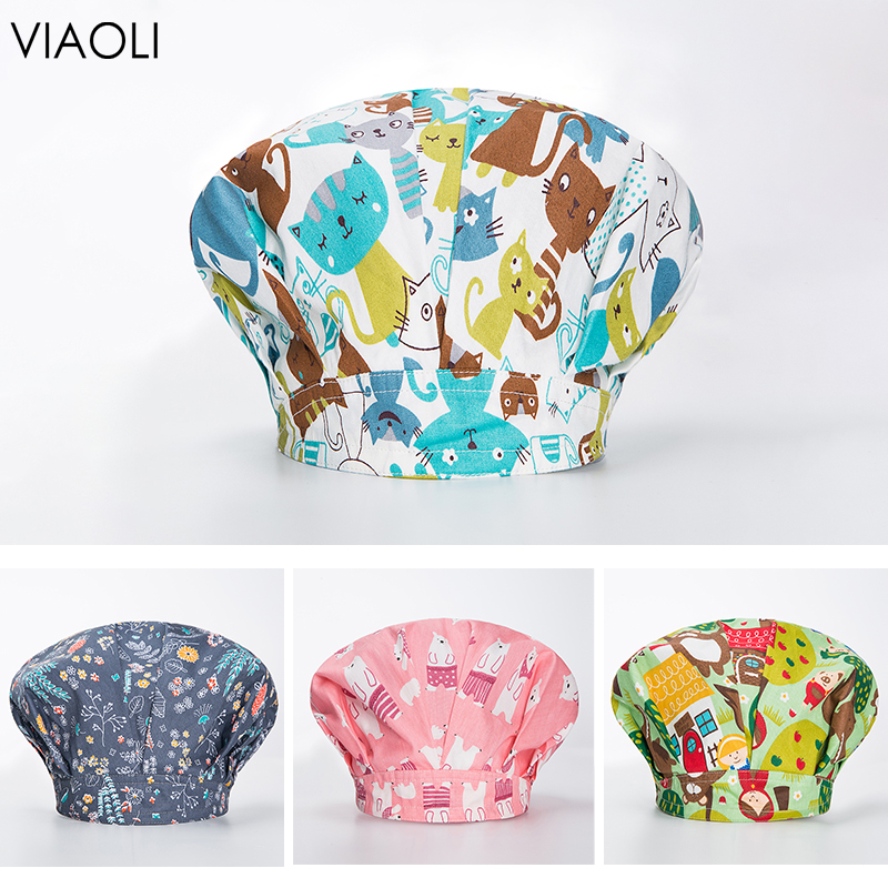 Breathable Surgical Cap Operating Room Cleaning Doctor Dental Nurse Hat Medical Laboratory Emergency Room Pharmacy Eye Hospital
