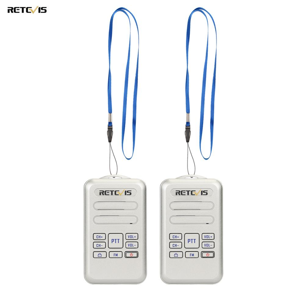 Image 1 - 2pcs Retevis RT20 Mini Walkie Talkie Radio 2W UHF Transceiver VOX FM Radio Type C USB Charge 2 Way Radio Walk Talk Comunicador-in Walkie Talkie from Cellphones & Telecommunications