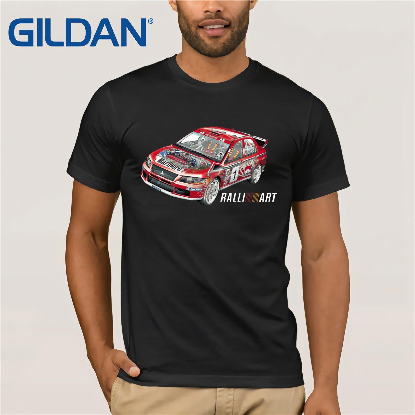 2020 New Men Summer Mitsubi Lancer Evo VI VII VIII IX WRC Makinen Solberg FAN T Shirt Cool Men Cotton T-shirt
