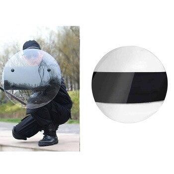 Escudo de mano de PC transparente, equipo de patrulla de seguridad, juego de entrenamiento táctico, Escudo de autoprotección