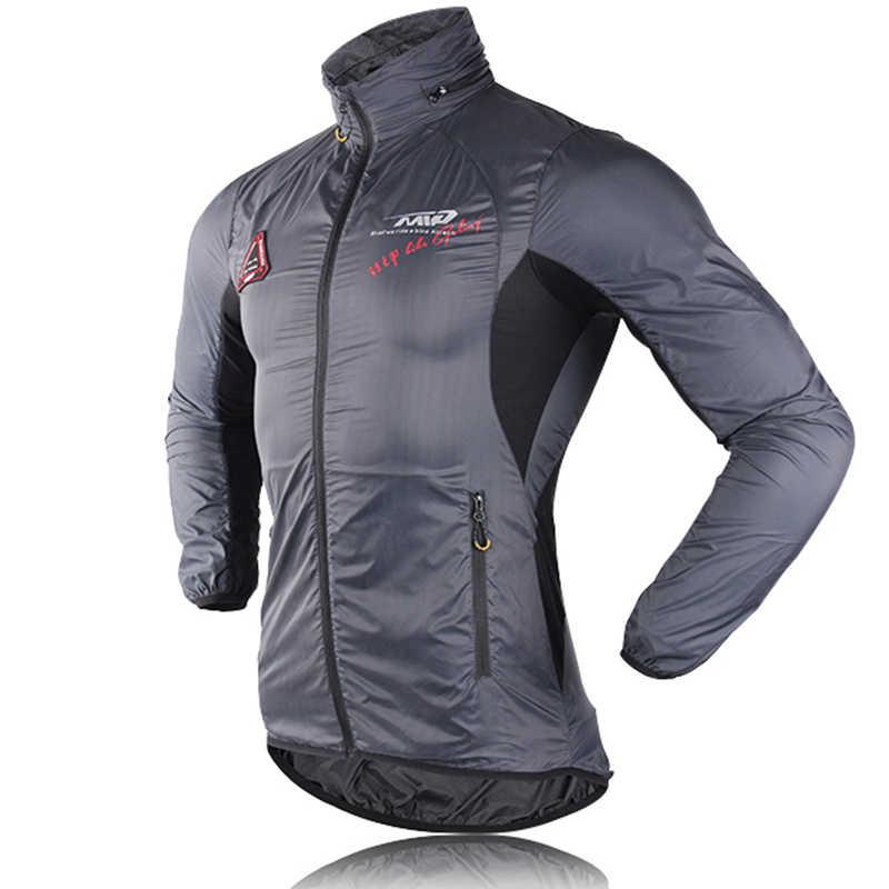 Ultralichte Hooded Bicycle Bike Jacket Winddicht Jas Road MTB Aero Fietsen Wind Coat Mannen Kleding Quick Dry Jersey dunne Jassen