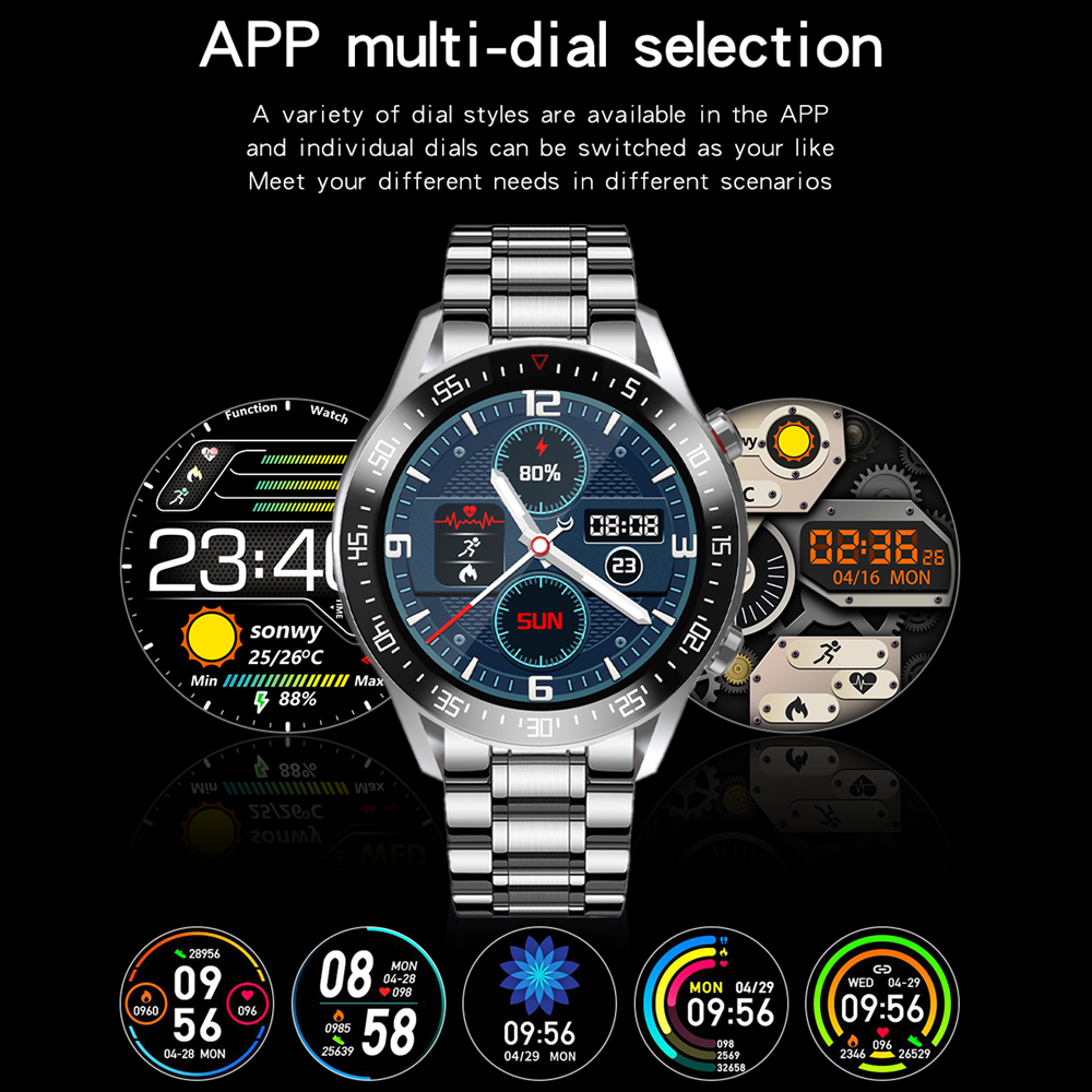 XUESEVEN 2021 HD Full circle touch screen Mens Smart Watches IP68 Waterproof Sports Fitness Watch Fashion XUESEVEN 2021 HD Full circle touch screen Mens Smart Watches IP68 Waterproof Sports Fitness Watch Fashion Smart Watch for men